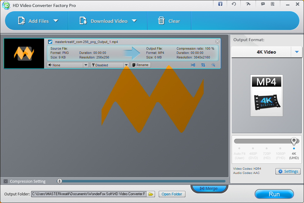 WonderFox HD Video Converter Factory Pro 8.01