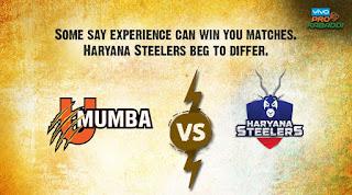 U Mumba VS Haryana Steelers