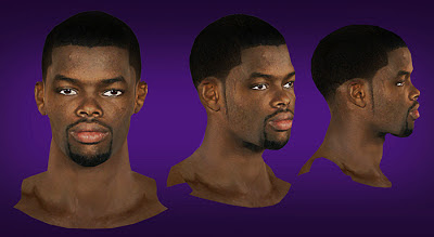 NBA 2K13 Aaron Brooks Cyberface Patch Mods