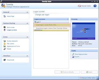 Cara mudah mengubah logon screen menggunakan Tuneup utilities 2013