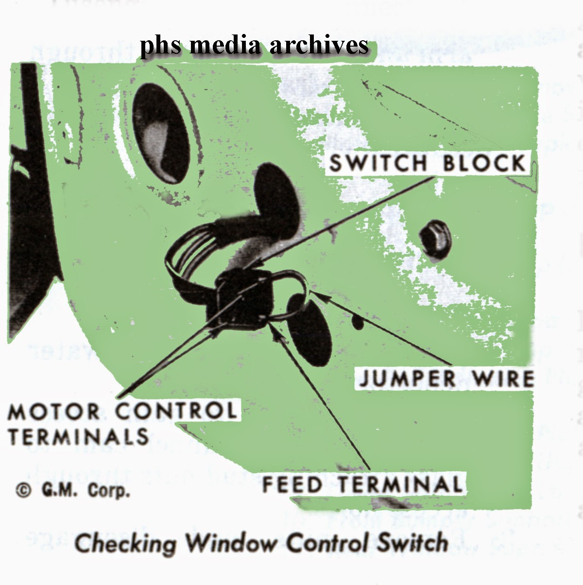 1967 Gm Power Window Wiring Diagram Content Resource Of 85 S10 Tech Files Troubleshooting And Fixing Windows 1968 1973 Rh Phscollectorcarworld Blogspot Com Eclipse Relay