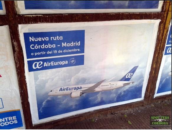 Aeropuerto internacional c rdoba las nuevas compa as for Oficinas air europa madrid