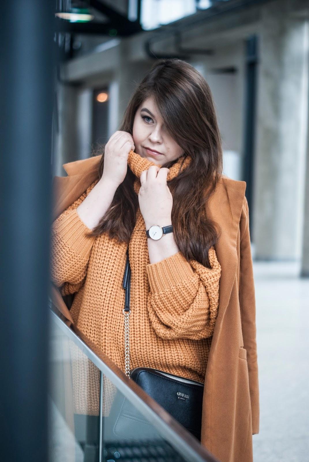 ae215905 Musztardowy Sweter | Feather - Mój Sposób Na Modę