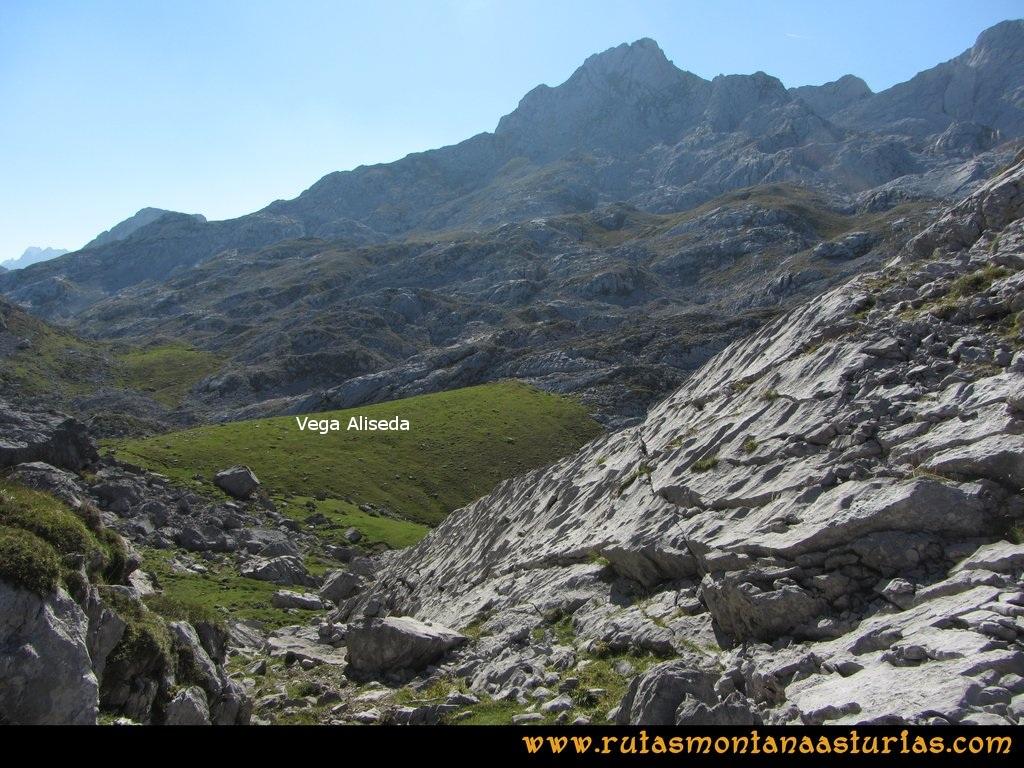 Ruta Ercina, Verdilluenga, Punta Gregoriana, Cabrones: Vega de Aliseda