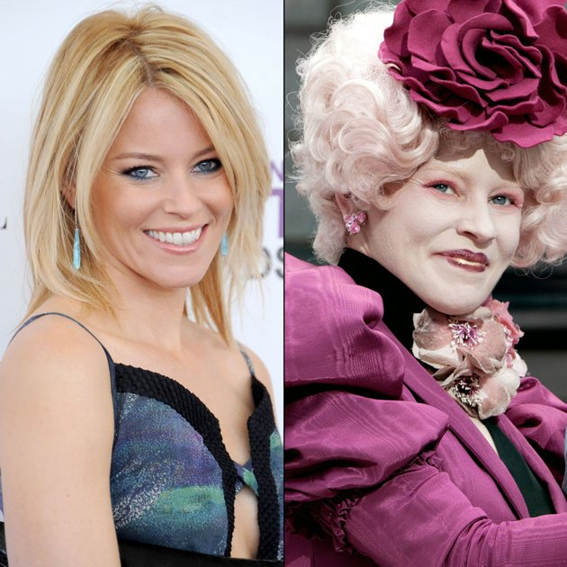 Transformations of 'The Hunger Games' Actors