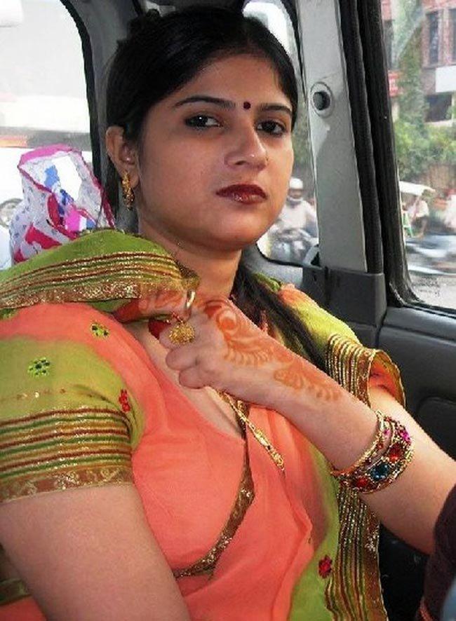 Indian Bhabhi In Sari,, - Desi Indian Girls-3917
