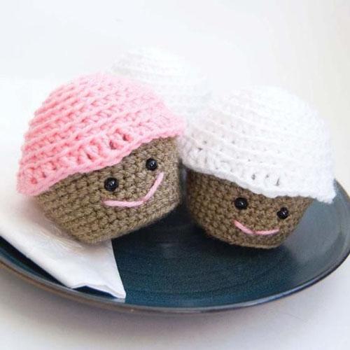 Amigurumi Crochet Cupcake - Free Pattern