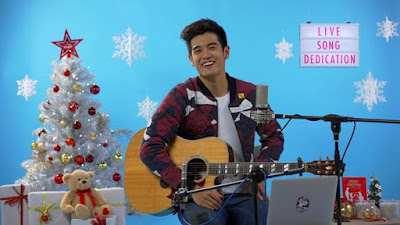 Source: Singtel. Nathan Hartono recently performed live on Singtel's Facebook page.