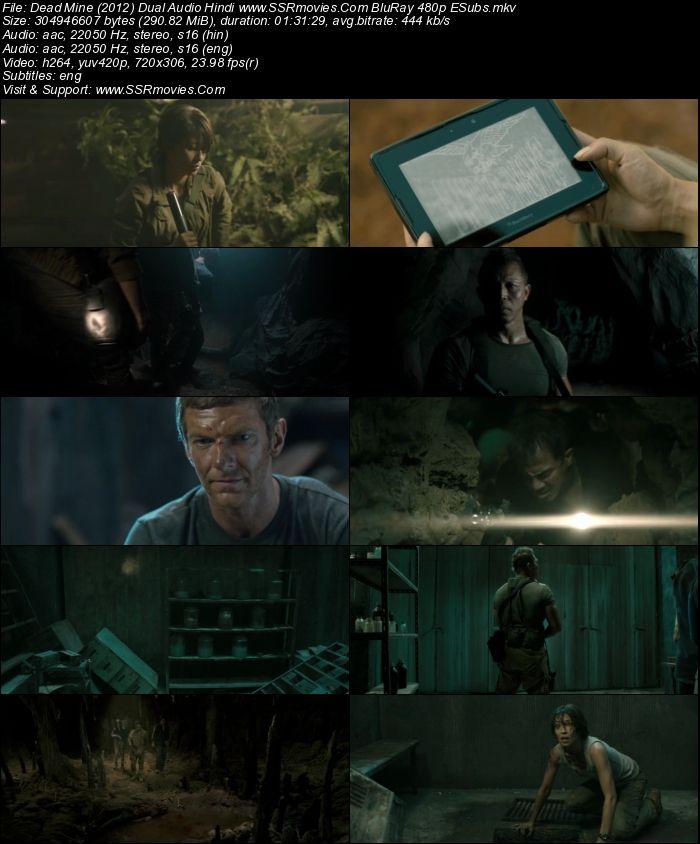 Dead Mine (2012) Dual Audio Hindi BluRay 480p 300MB ESubs