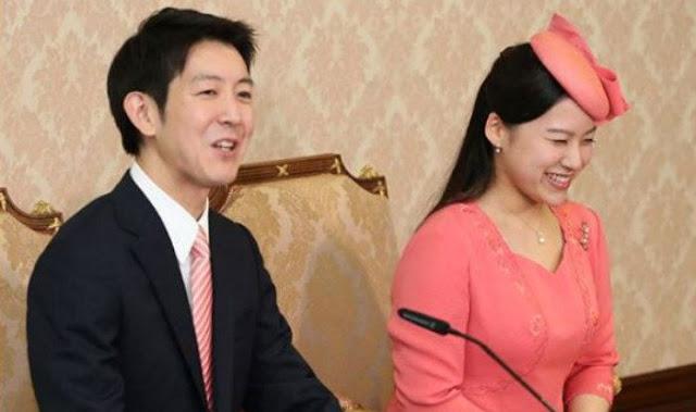 Princess Ayako and husband