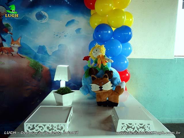 Decoração mesa de tema Pequeno Príncipe - Festa de aniversário infantil