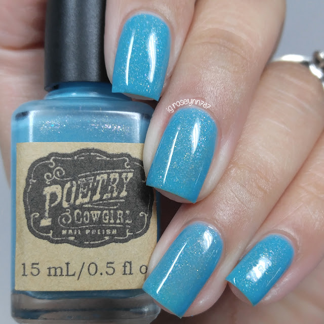 Poetry Cowgirl Nail Polish - In the Pool