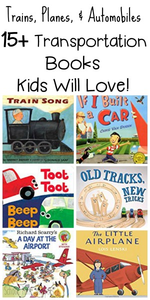 Best Transportation Activities and Books for Kids