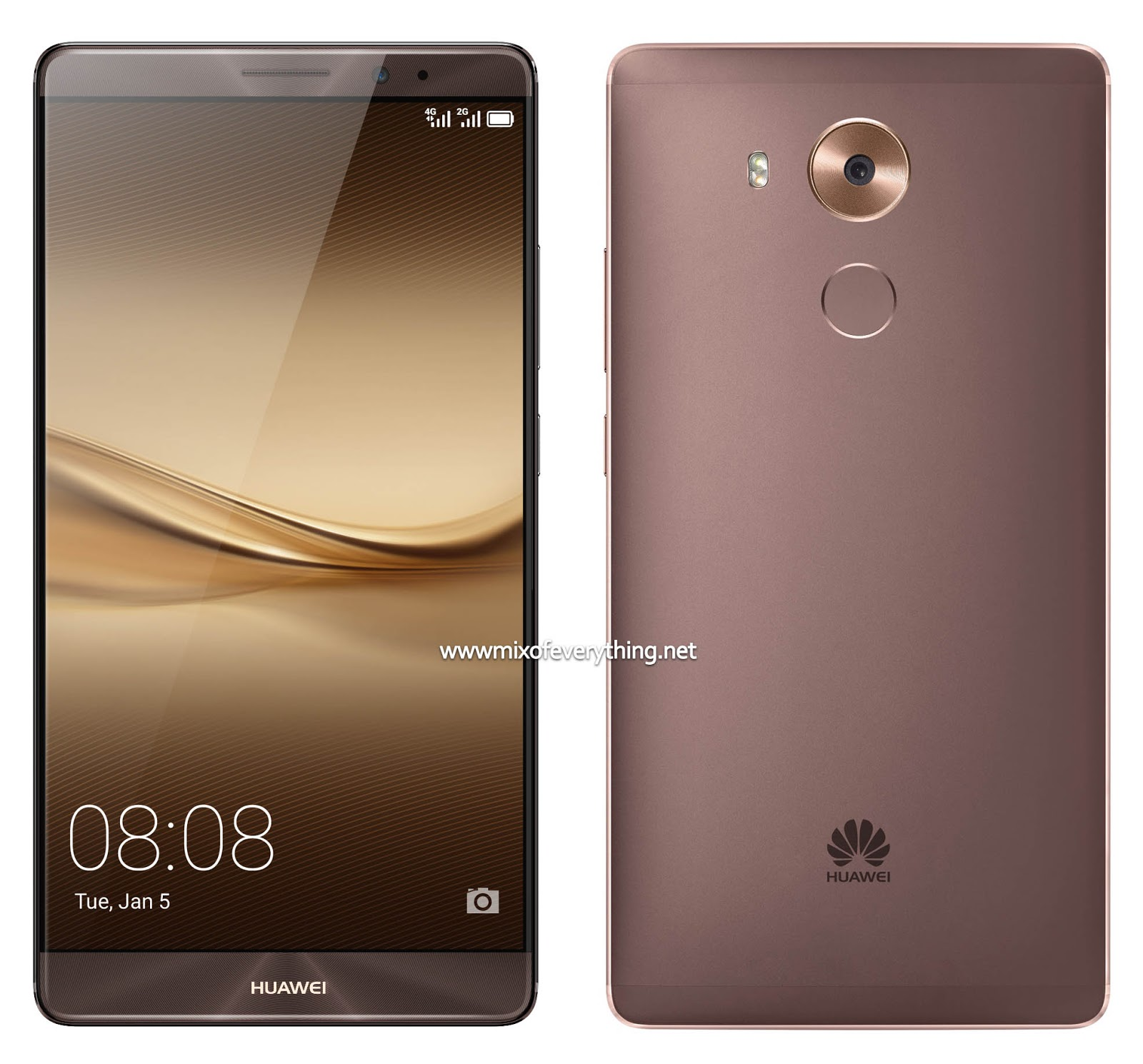 With The Successful Launch Of Huawei S Flagship Mate 8 They Now Offer A New Shade For Impressive Device Mocha Brown Unique Deep Color Hint