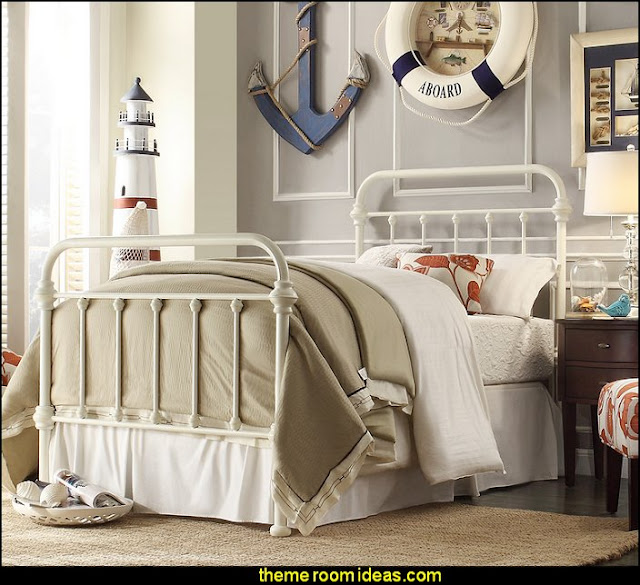 Laroche Panel Bed  nautical bedrooms
