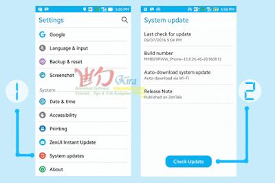 Wd-Kira, mengapa harus update android dan bagaimana caranya ?, apa manfaat update, upgrade software, asus zenfone, upgrade baru asus zenfone, zenfone c, zenfone 2, zenfone 3, zenfone 2 max, zenfone 3 max, cara menyikapi upgrade android, cara mengatasi minim kuota untuk upgrade