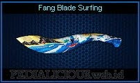 Fang Blade Surfing