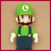 Luigi amigurumi