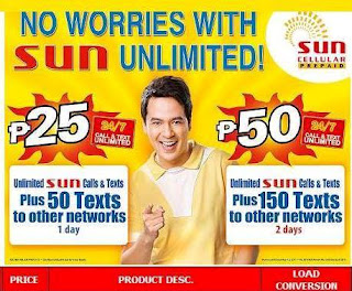 register Sun Unlimited Call & Text Promo