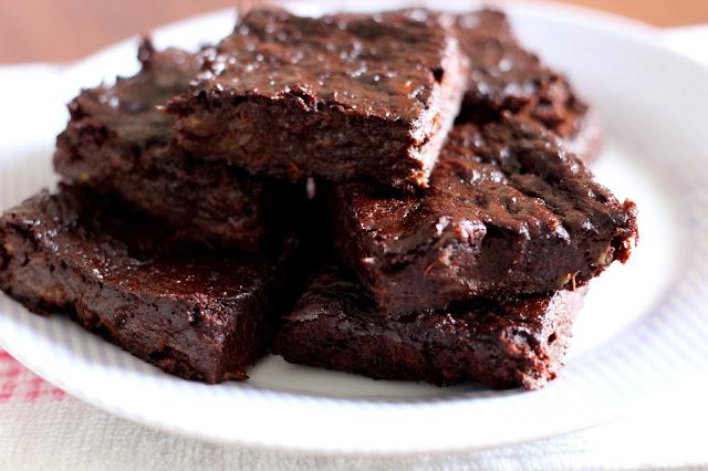 Brownie de 3 ingredientes #semglúten #semlactose