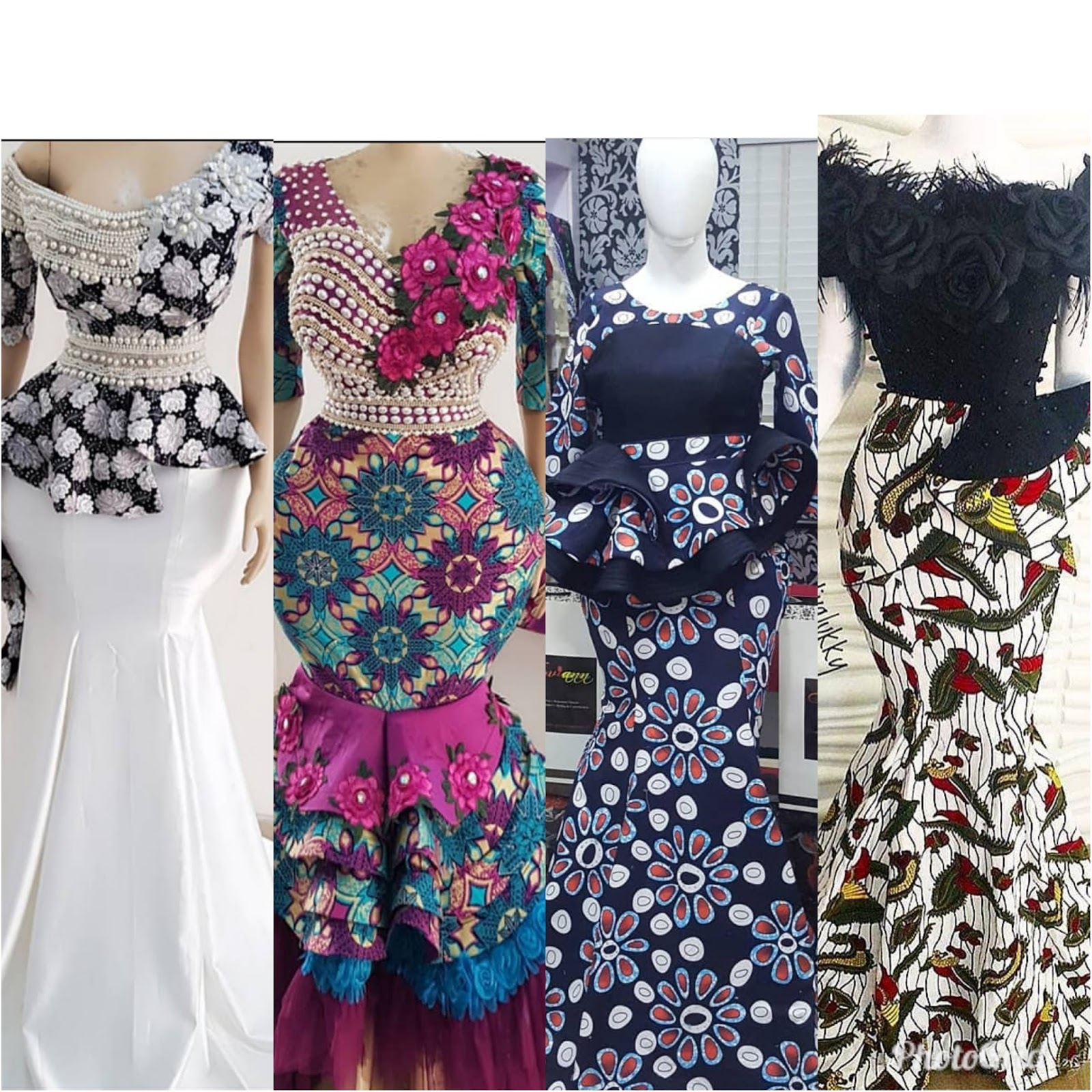 9c9463538c82d Elegant and Classy! Stylish Ankara Peplum Styles