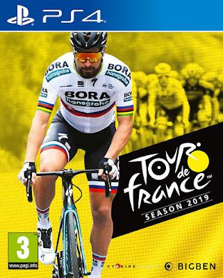Tour De France 2019 Game Cover Ps4