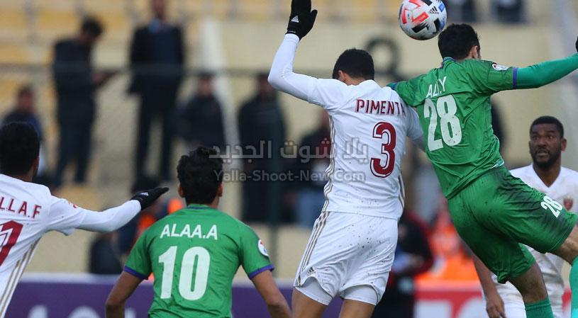 الوحدة يحقق انتصار قاتل على نادي الشرطة العراقي في دوري أبطال آسيا