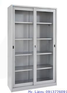 Tủ Sắt Cao 2m Cửa Kính Trượt Godrej, tủ hồ sơ văn phòng Godrej