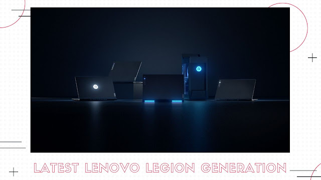 Patty Villegas - The Lifestyle Wanderer - Lenovo Legion 2020 Lineup - Philippines