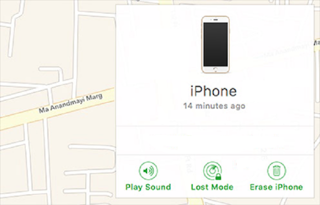cara mengaktifkan lost mode, dan menghapus iPhone di find my iPhone