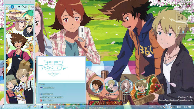 Digimon Adventure Tri. Theme Win 8/8.1 by Enji Riz Lazuardi