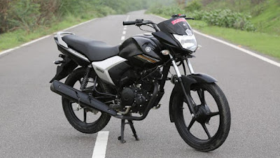 Yamaha Saluto 125 black side wallpapers