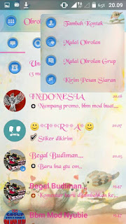 BBM Mod Droid Chat Love Birds 3.0.1.25 Apk Terbaru