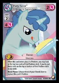 My Little Pony Party Favor, A Bridge to Somewhere Equestrian Odysseys CCG Card