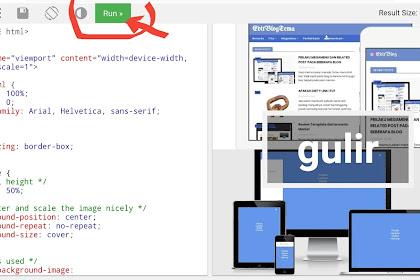 CARA MEMBUAT GAMBAR BERGULIR DENGAN HTML