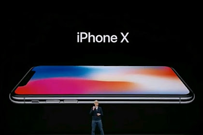 Penjualan Perdana Apple iPhone X