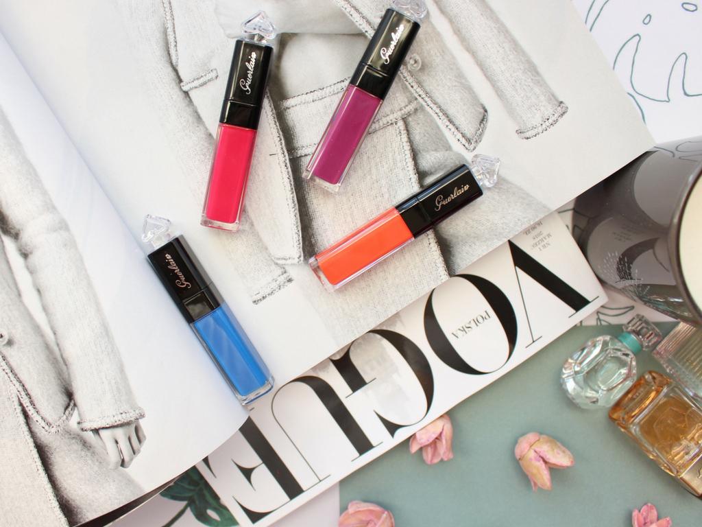 W kolorach lata czyli Guerlain La Petite Robe Noire Lip Colour'Ink