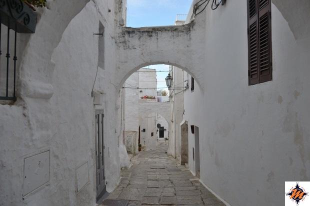 Ostuni, vicoli nel centro storico
