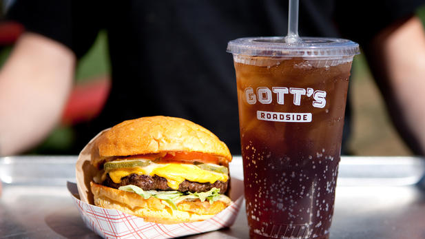 Gotts Roadside Burgers and Shakes em San Francisco