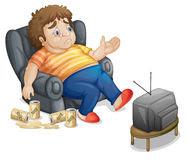 menonton televisi selama beberapa jam termasuk sedentary