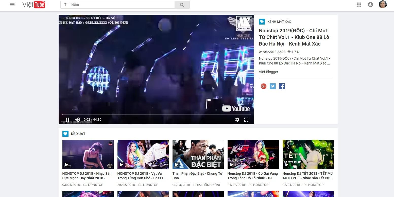 Theme Rip theo Kênh Youtube rất chất