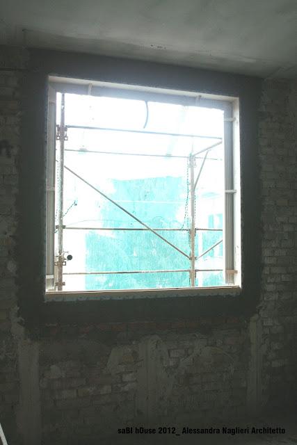 controtelaio in legno isolato insulated wood frame