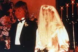 Foto de la boda de Freddy Moore y Demi Moore