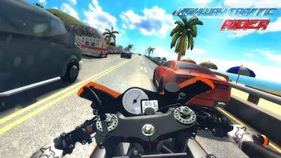 Download Highway Traffic Rider Mod APK v1.6.10 Update 2017 (Mega Mod) Gratis