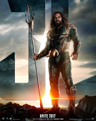 Justice League Character Movie Poster Set - Aquaman