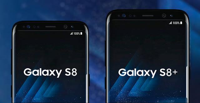 samsung galaxy s8, s8+ 1
