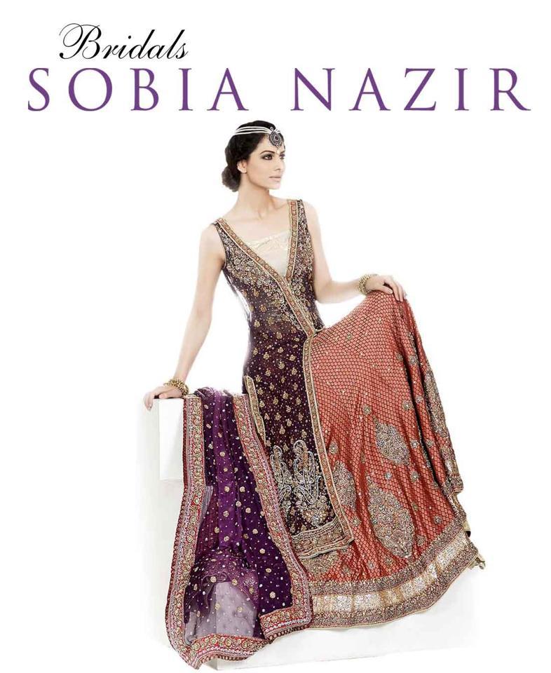 Fancy Dressing Gowns: Pakistani Designer Bridal Dresses 2013