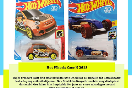 Hot Wheels Case N 2018 (Gruuuuu)