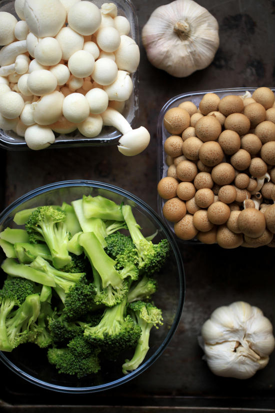 tumis brokoli dan sawi putih