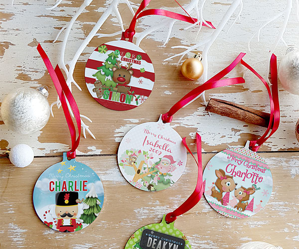 christmas baubles personalised, christmas wishes images
